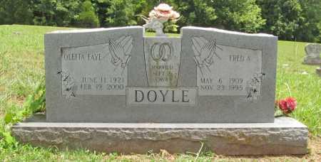 DOYLE, OLEITA FAYE - Washington County, Arkansas   OLEITA FAYE DOYLE - Arkansas Gravestone Photos