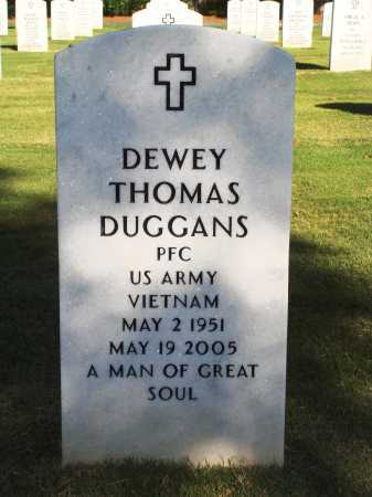DUGGANS  (VETERAN VIET), DEWEY THOMAS - Washington County, Arkansas | DEWEY THOMAS DUGGANS  (VETERAN VIET) - Arkansas Gravestone Photos