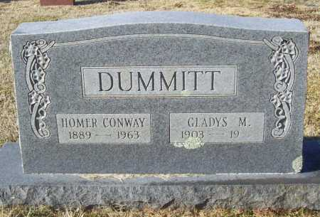 MCMILLAN DUMMITT, GLADYS M. - Washington County, Arkansas | GLADYS M. MCMILLAN DUMMITT - Arkansas Gravestone Photos