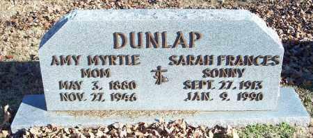 DUNLAP, AMY MYRTLE - Washington County, Arkansas | AMY MYRTLE DUNLAP - Arkansas Gravestone Photos