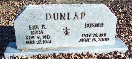 DUNLAP, EVA B. - Washington County, Arkansas | EVA B. DUNLAP - Arkansas Gravestone Photos