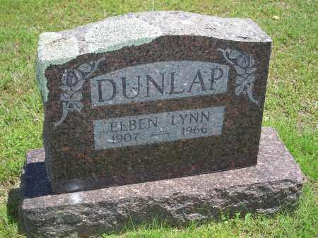 DUNLAP, ELBEN LYNN - Washington County, Arkansas | ELBEN LYNN DUNLAP - Arkansas Gravestone Photos