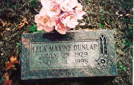 GIBSON DUNLAP, LELA MAXINE - Washington County, Arkansas | LELA MAXINE GIBSON DUNLAP - Arkansas Gravestone Photos
