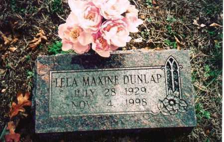 DUNLAP, LELA MAXINE - Washington County, Arkansas | LELA MAXINE DUNLAP - Arkansas Gravestone Photos