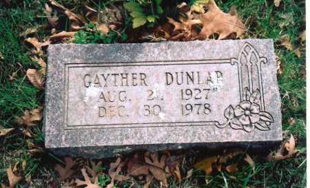 DUNLAP, ORAN GAYTHER - Washington County, Arkansas | ORAN GAYTHER DUNLAP - Arkansas Gravestone Photos