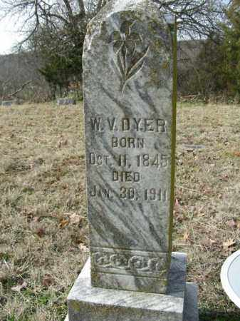 DYER, WILLIAM VANBUREN - Washington County, Arkansas | WILLIAM VANBUREN DYER - Arkansas Gravestone Photos