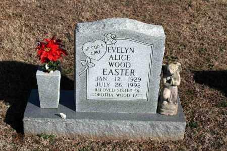 WOOD EASTER, EVELYN ALICE - Washington County, Arkansas | EVELYN ALICE WOOD EASTER - Arkansas Gravestone Photos