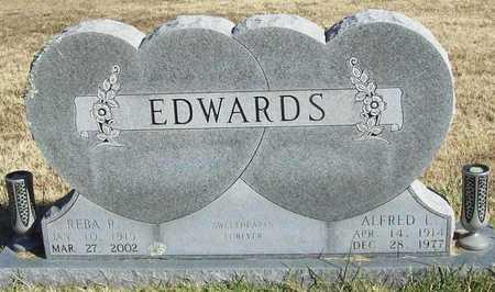 WRIGHT EDWARDS, REBA R - Washington County, Arkansas | REBA R WRIGHT EDWARDS - Arkansas Gravestone Photos