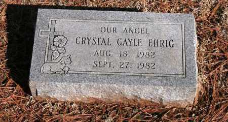 EHRIG, CRYSTAL GAYLE - Washington County, Arkansas | CRYSTAL GAYLE EHRIG - Arkansas Gravestone Photos