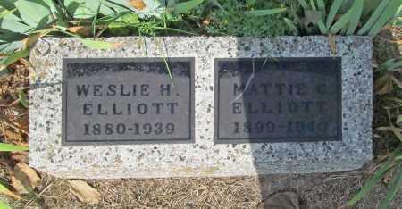 ELLIOTT, MATTIE C. - Washington County, Arkansas   MATTIE C. ELLIOTT - Arkansas Gravestone Photos