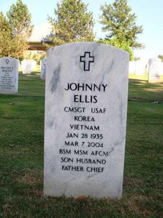 ELLIS  (VETERAN 2 WARS), JOHNNY - Washington County, Arkansas | JOHNNY ELLIS  (VETERAN 2 WARS) - Arkansas Gravestone Photos