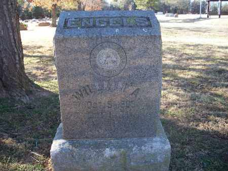 ENGELS, WILLIAM A. - Washington County, Arkansas | WILLIAM A. ENGELS - Arkansas Gravestone Photos