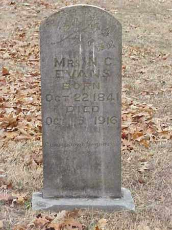 EVANS, MRS N. C. - Washington County, Arkansas | MRS N. C. EVANS - Arkansas Gravestone Photos