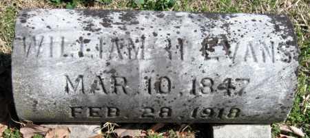 EVANS, WILLIAM H. - Washington County, Arkansas | WILLIAM H. EVANS - Arkansas Gravestone Photos