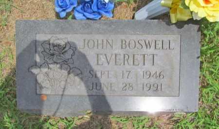 EVERETT, JOHN BOSWELL - Washington County, Arkansas   JOHN BOSWELL EVERETT - Arkansas Gravestone Photos