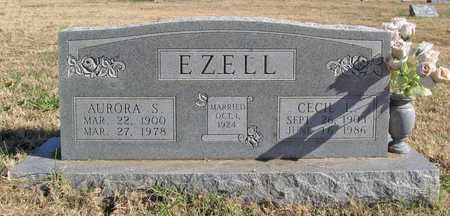 CURRY EZELL, AURORA S - Washington County, Arkansas | AURORA S CURRY EZELL - Arkansas Gravestone Photos