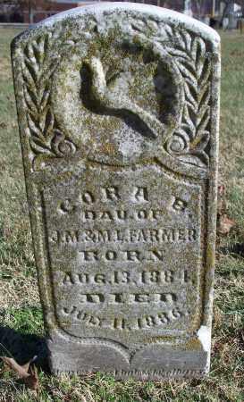 FARMER, CORA B. - Washington County, Arkansas   CORA B. FARMER - Arkansas Gravestone Photos