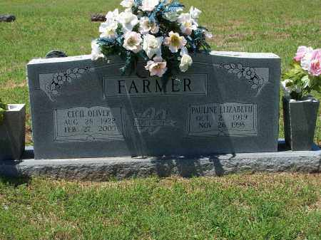FARMER, CECIL OLIVER - Washington County, Arkansas | CECIL OLIVER FARMER - Arkansas Gravestone Photos