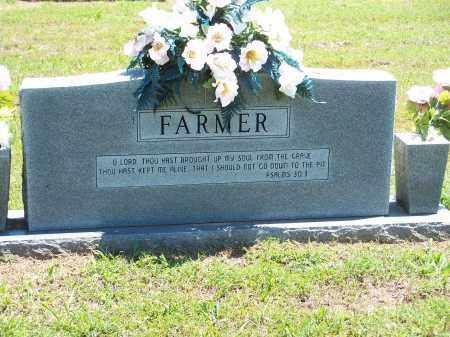 FARMER, CECIL & PAULINE [BACK OF STONE] - Washington County, Arkansas | CECIL & PAULINE [BACK OF STONE] FARMER - Arkansas Gravestone Photos