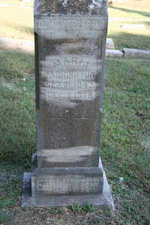 FARRINGTON, MARIA - Washington County, Arkansas | MARIA FARRINGTON - Arkansas Gravestone Photos