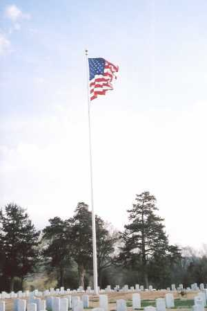 *FAYETTEVILLE NATIONAL CEMETER, FLAG - Washington County, Arkansas | FLAG *FAYETTEVILLE NATIONAL CEMETER - Arkansas Gravestone Photos
