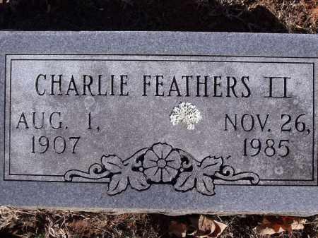 FEATHERS, CHARLIE, II - Washington County, Arkansas   CHARLIE, II FEATHERS - Arkansas Gravestone Photos