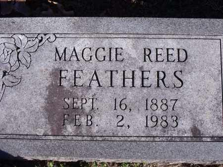 FEATHERS, MAGGIE - Washington County, Arkansas | MAGGIE FEATHERS - Arkansas Gravestone Photos