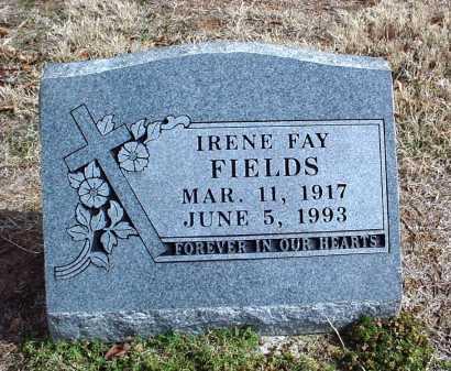 ALSUP FIELDS, IRENE FAY - Washington County, Arkansas | IRENE FAY ALSUP FIELDS - Arkansas Gravestone Photos