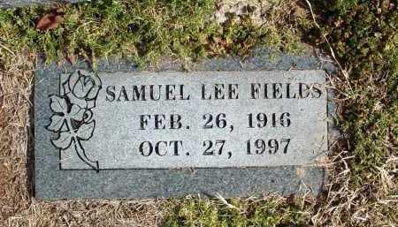 FIELDS, SAMUEL LEE - Washington County, Arkansas | SAMUEL LEE FIELDS - Arkansas Gravestone Photos