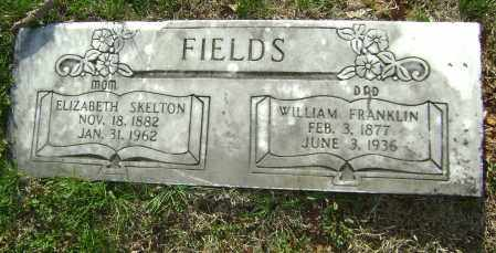 FIELDS, ELIZABETH - Washington County, Arkansas   ELIZABETH FIELDS - Arkansas Gravestone Photos