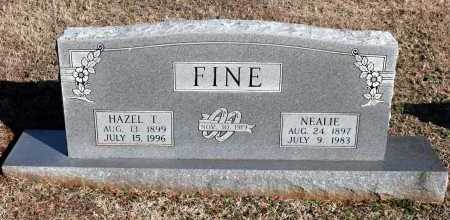FINE, NEALIE - Washington County, Arkansas | NEALIE FINE - Arkansas Gravestone Photos