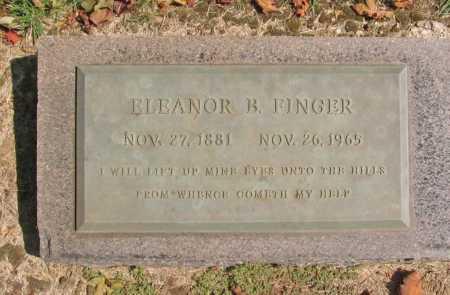 FINGER, ELEANOR B. - Washington County, Arkansas   ELEANOR B. FINGER - Arkansas Gravestone Photos