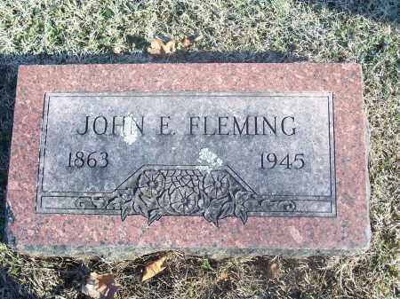 FLEMING, JOHN EDWARD - Washington County, Arkansas | JOHN EDWARD FLEMING - Arkansas Gravestone Photos