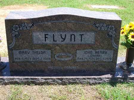 FLYNT, JOHN HENRY (JOHNNIE) - Washington County, Arkansas | JOHN HENRY (JOHNNIE) FLYNT - Arkansas Gravestone Photos