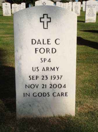 FORD  (VETERAN), DALE CHESTER - Washington County, Arkansas | DALE CHESTER FORD  (VETERAN) - Arkansas Gravestone Photos