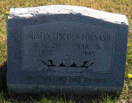 FORNASH, AUSTIN LINCOLN - Washington County, Arkansas | AUSTIN LINCOLN FORNASH - Arkansas Gravestone Photos