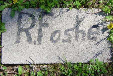 FOSHE, R. - Washington County, Arkansas   R. FOSHE - Arkansas Gravestone Photos