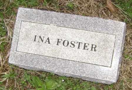 FOSTER, INA - Washington County, Arkansas   INA FOSTER - Arkansas Gravestone Photos