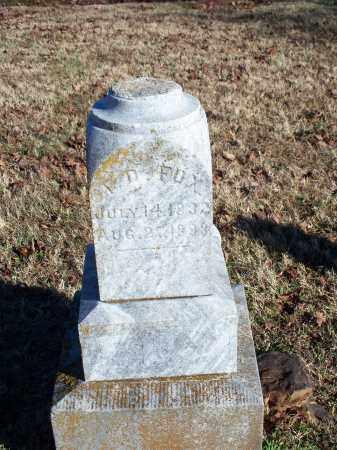 FOX, J. D. - Washington County, Arkansas   J. D. FOX - Arkansas Gravestone Photos