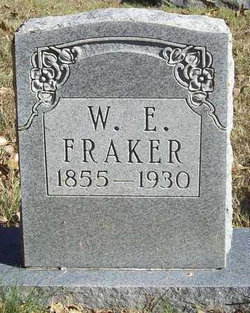 FRAKER, W E - Washington County, Arkansas   W E FRAKER - Arkansas Gravestone Photos