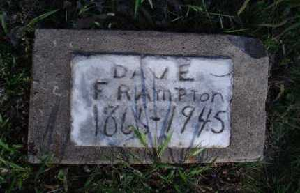 FRAMPTON, DAVE - Washington County, Arkansas   DAVE FRAMPTON - Arkansas Gravestone Photos