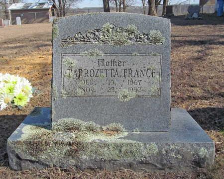FRANCE, PARROZETTA - Washington County, Arkansas   PARROZETTA FRANCE - Arkansas Gravestone Photos