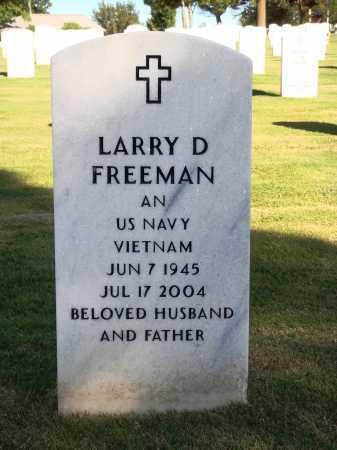 FREEMAN  (VETERAN VIET), LARRY DELL - Washington County, Arkansas | LARRY DELL FREEMAN  (VETERAN VIET) - Arkansas Gravestone Photos