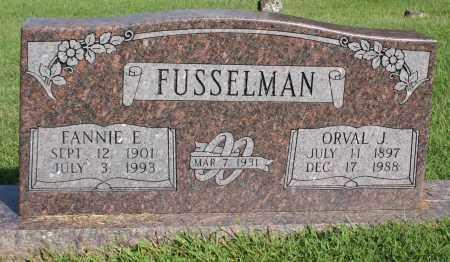 MCREYNOLDS FUSSELMAN, FANNIE E. - Washington County, Arkansas | FANNIE E. MCREYNOLDS FUSSELMAN - Arkansas Gravestone Photos