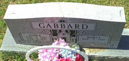 GABBARD, FLOYD B - Washington County, Arkansas | FLOYD B GABBARD - Arkansas Gravestone Photos