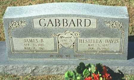 DAVIS GABBARD, HESTELLA - Washington County, Arkansas | HESTELLA DAVIS GABBARD - Arkansas Gravestone Photos