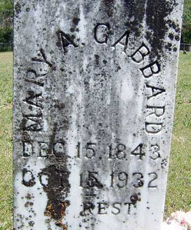 GABBARD, MARY ANN - Washington County, Arkansas | MARY ANN GABBARD - Arkansas Gravestone Photos