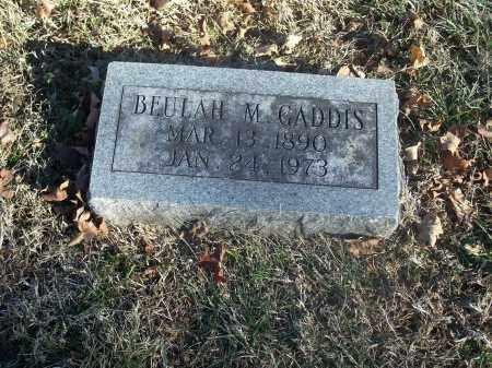 GADDIS, BEULAH M. - Washington County, Arkansas   BEULAH M. GADDIS - Arkansas Gravestone Photos