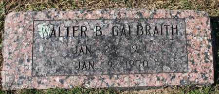 GALBRAITH, WALTER B. - Washington County, Arkansas | WALTER B. GALBRAITH - Arkansas Gravestone Photos