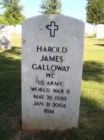 GALLOWAY  (VETERAN WWII), HAROLD JAMES - Washington County, Arkansas | HAROLD JAMES GALLOWAY  (VETERAN WWII) - Arkansas Gravestone Photos